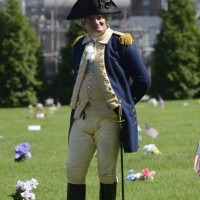 His Excellency General George Washington - Historical Character in Brooklyn, New York