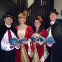 Holiday Harmonies - Christmas Carolers in Clarksburg, West Virginia