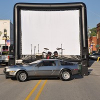 Hoosier Moon Movies - Inflatable Movie Screens in South Bend, Indiana