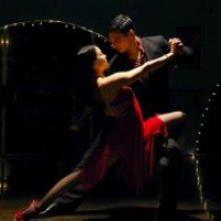 Hot Tango Dance - Flamenco Dancer in ,