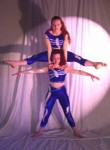acro straddle