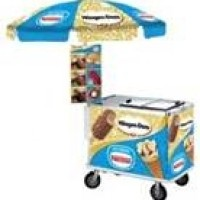 Ice Cream Carts and Novelties by One Hour Parties - Caterer in Miami Beach, Florida