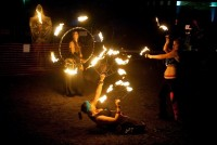 Ignite Fire Troupe - Dance in Hibbing, Minnesota