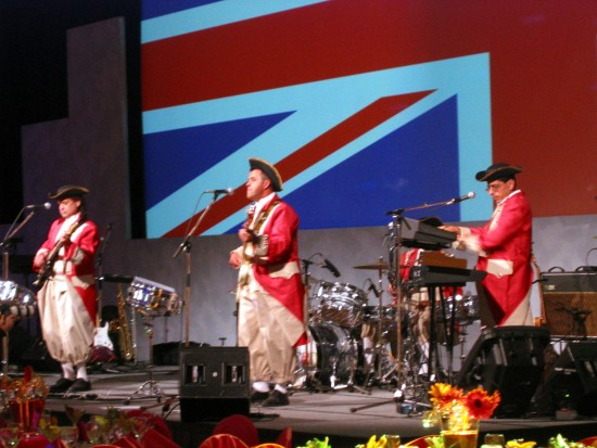 Red Coats British Invasion Band
