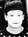 Mime Face Photo