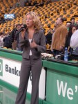 Jacklyn Singing National Anthem for Boston Celtics