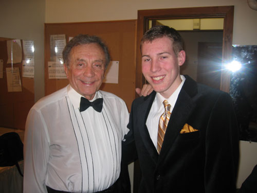 James with Al Martino