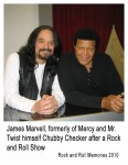 Marvell and Chubby Checker