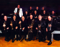 James L. Dean Big Band/ Whiskey Cafe Groove Cats - Brass Band in New York City, New York
