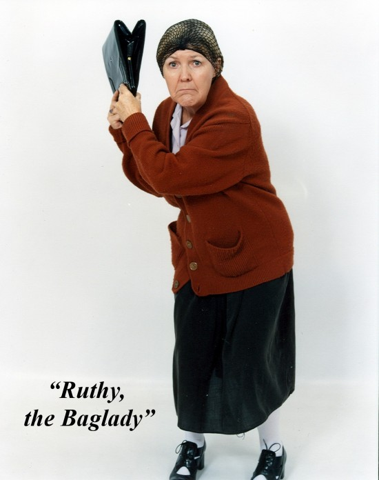 """Ruthy the Baglady"""