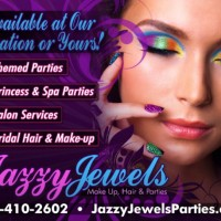 Jazzy Jewels themed parties - Temporary Tattoo Artist in St Petersburg, Florida