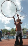 Twin Hooping
