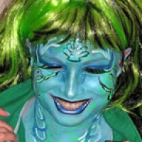 Jeannie Bean's Face Painting - Airbrush Artist in New Orleans, Louisiana