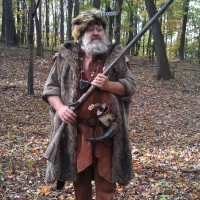 Jerry Vencill - Civil War Reenactment in ,