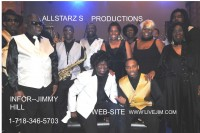 Jimmy Hill And The Allstarz Band - Motown Group in Long Island, New York