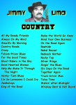 JIMMY LIMO- COUNTRY SONGLIST