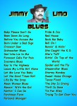 JIMMY LIMO- BLUES SONGLIST