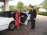 "Helene as ""Joan"" with Limo"