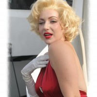 Jodi Fleisher as Marilyn Monroe - Female Model in Fairbanks, Alaska