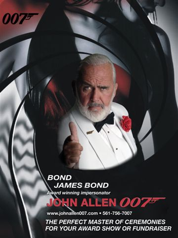 BOND,JAMES BOND Impersonator