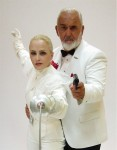 Bond and Madonna Impersonators