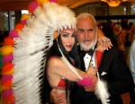 Sean Connery and Cher Impersonator
