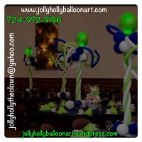 Jolly Holly Balloon Art - Balloon Decor in Pittsburgh, Pennsylvania