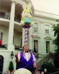 Juggler Bob at the White House