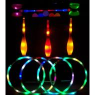LED juggling props