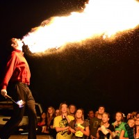 Juggling, Magic, Fire, and More! - Stilt Walker in Dallas, Texas