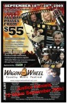 Wagon Wheel Promotional Flyer