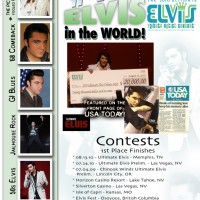 Justin Shandor 2010 Ultimate Elvis Winner - 1950s Era Entertainment in Beaverton, Oregon