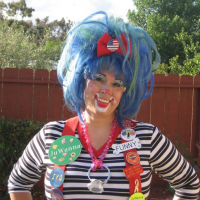 JuWanna the Clown and Friends - Children's Party Magician in San Diego, California