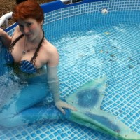 Katia, The Blue Rose Mermaid - Petting Zoos for Parties in West Des Moines, Iowa