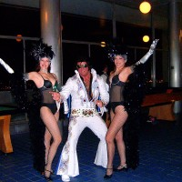 "Keith 'King"" Gipson - Elvis Impersonator in Atlantic City, New Jersey"