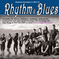Kelowna Secondary School Rhythm and Blues Band - Bands & Groups in Salmon Arm, British Columbia