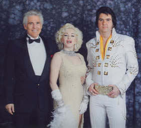 KENTON WITH ELVIS AND MARILYN