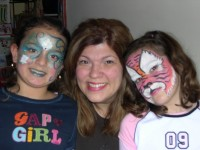 Kiddie Picasso Face Art - Airbrush Artist in Barrington, Rhode Island