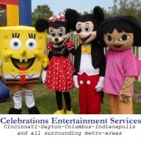 Kids Party Characters by Celebrations - Costumed Character in Cincinnati, Ohio