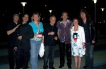 IBM Clients, after show at Anaheim Convention Center