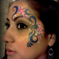 Kitzya Leal Face and Body Art - Temporary Tattoo Artist in Phoenix, Arizona