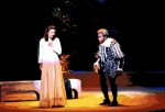 As Gilda in Rigoletto at the Cheju-do Opera in South Korea