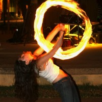 Kyle Anne - Fire Performer in Honolulu, Hawaii