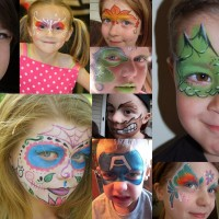 la-la land Face Painting - Horse Drawn Carriage in Grand Rapids, Michigan