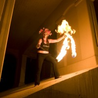 La Fiamma Entertainment - Fire Dancer in Paradise, Nevada