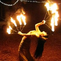 Lady Darjuxena - Fire Dancer in Tampa, Florida