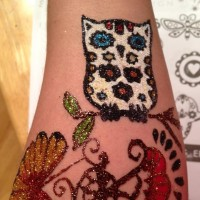 Lady glitter - Temporary Tattoo Artist in Santa Monica, California