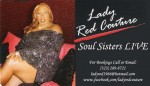 Lady Red Couture Buisness Card