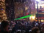 Christmas Tree Lighting Event, with Lasers, Artificial Snow, Bubbles and 18,000 Watts of Professional Sound, all Choreographed to a Custom Soundtrack