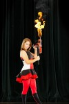 Laura Ernst Juggling Flaming Chainsaw